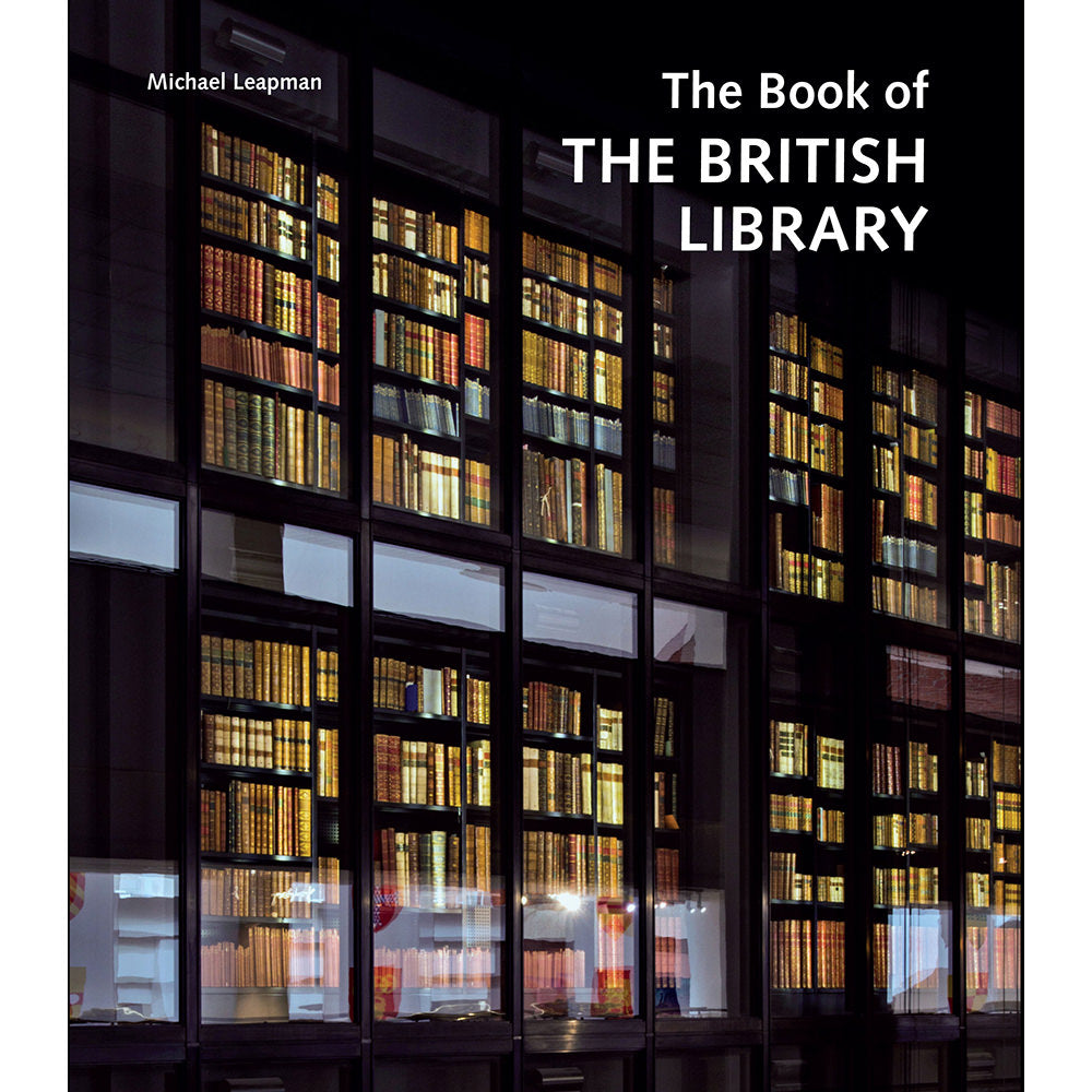 The Book of the British Library Hardback cover