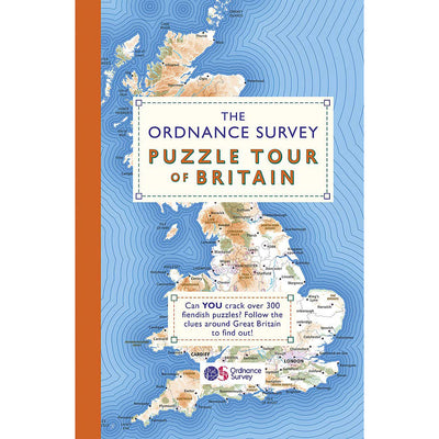 Cover of The Ordnance Survey Puzzle Tour of Britain