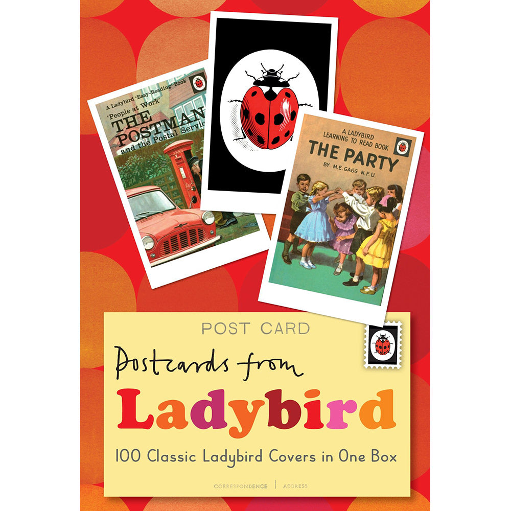 Postcards from Ladybird boxed card set