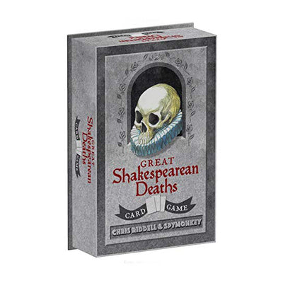 Box of Great Shakespearean Deaths Card Game
