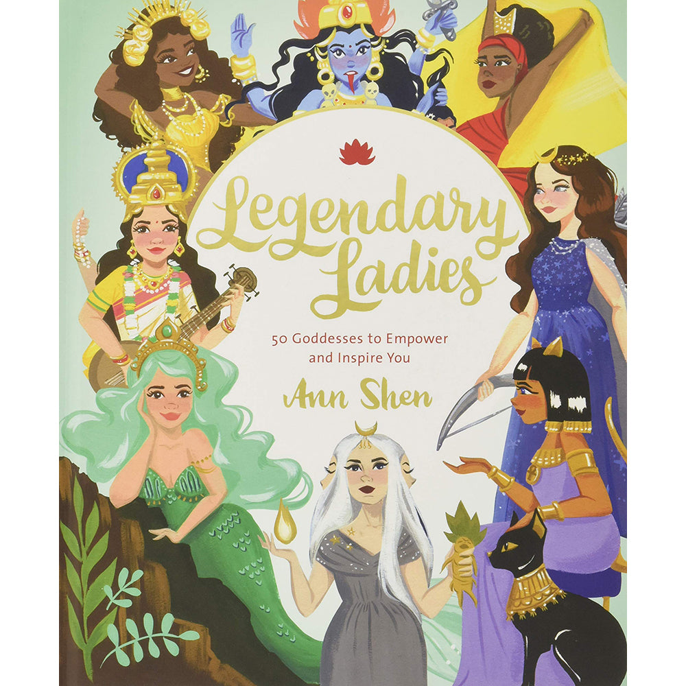 Legendary Ladies Hardback Front Cover