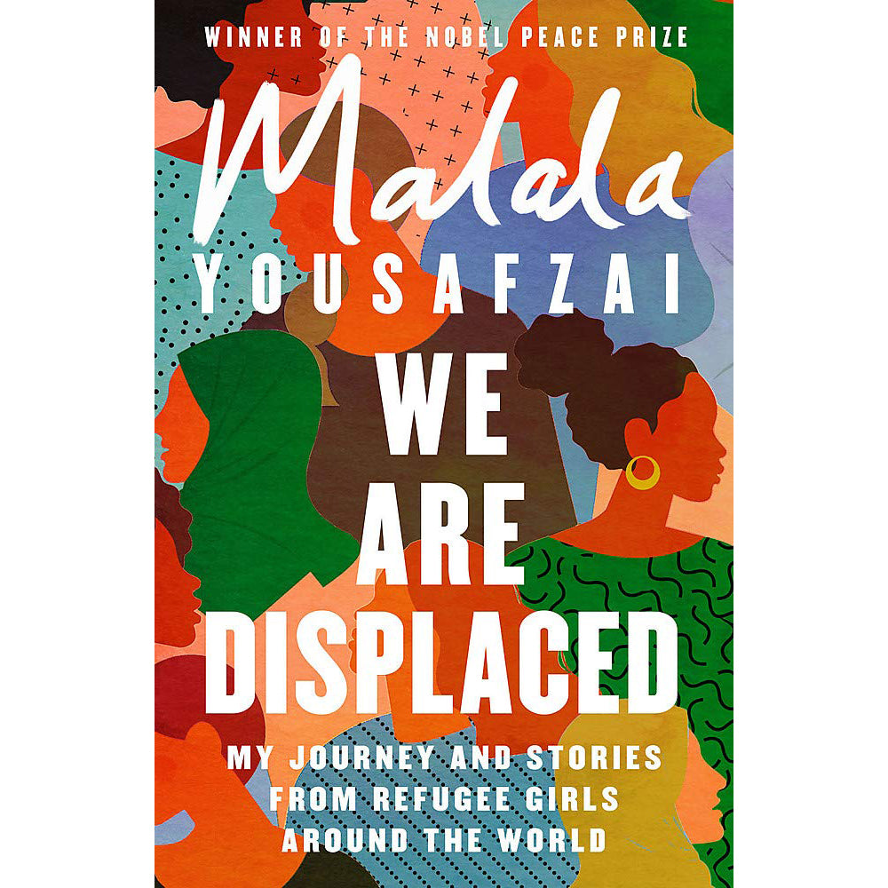 Cover of We Are Displaced by Malala Yousafzai