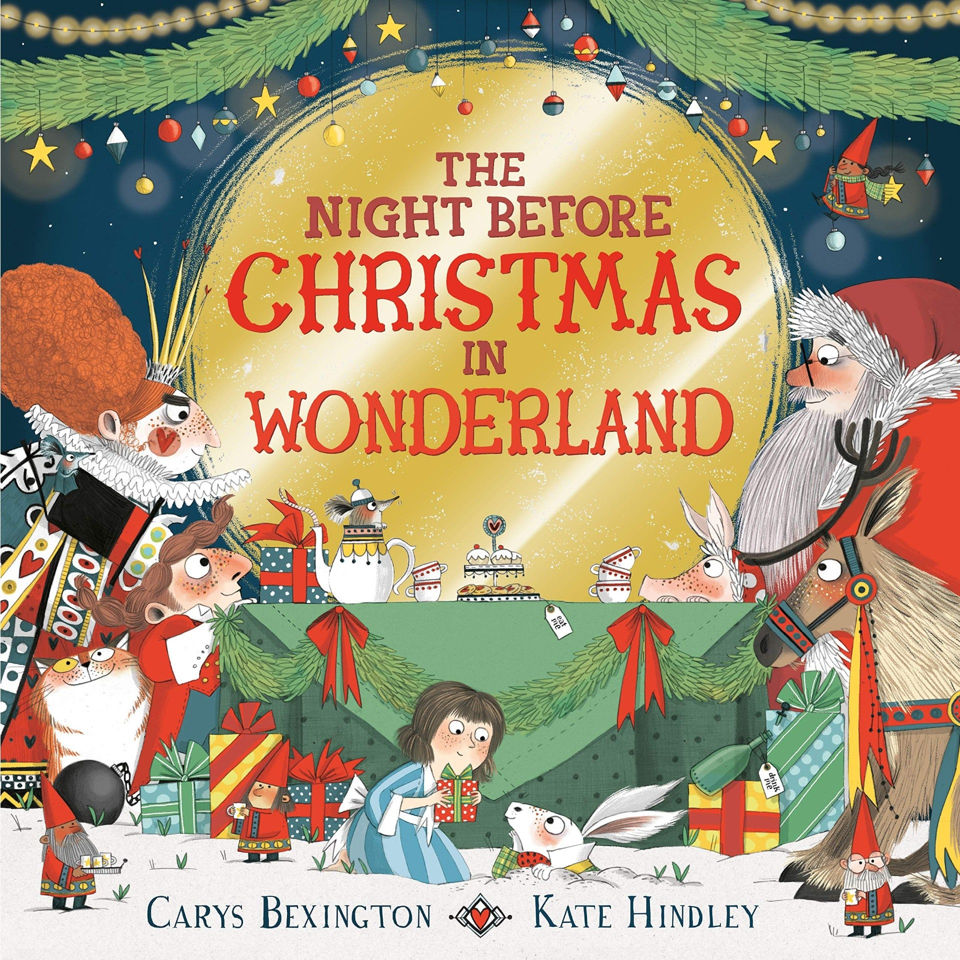 The Night Before Christmas in Wonderland Cover
