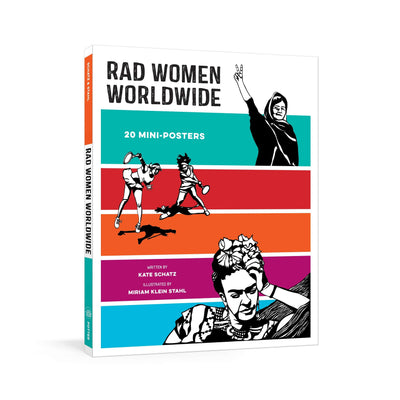 Cover of Rad Women Worldwide: 20 Mini-Posters
