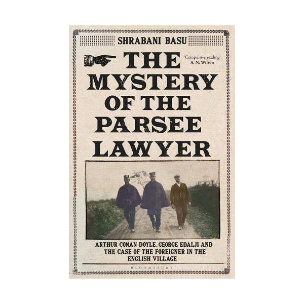Cover of The Mystery of the Parsee Lawyer