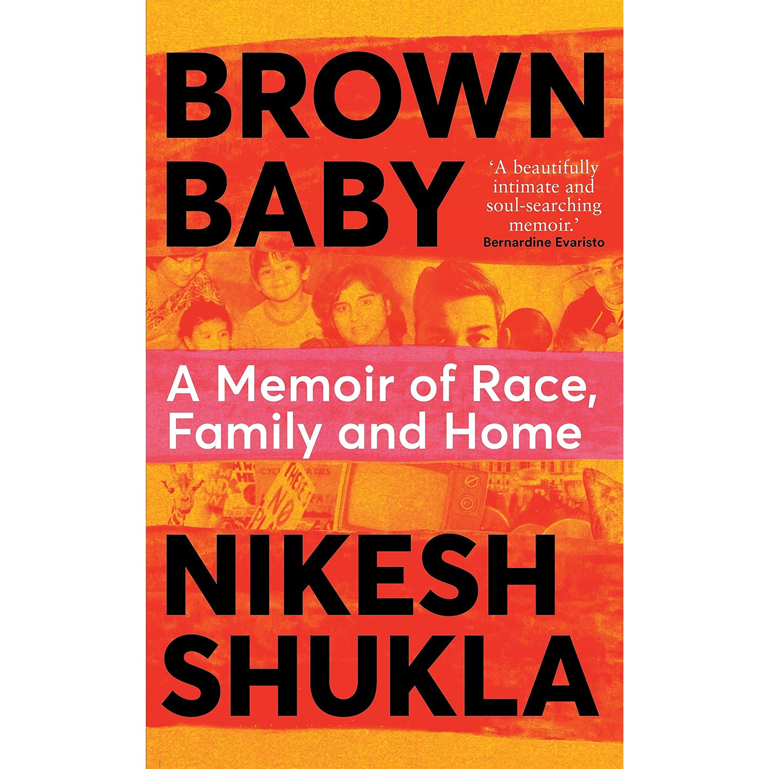Cover of Brown Baby: A Memoir of Race, Family and Home