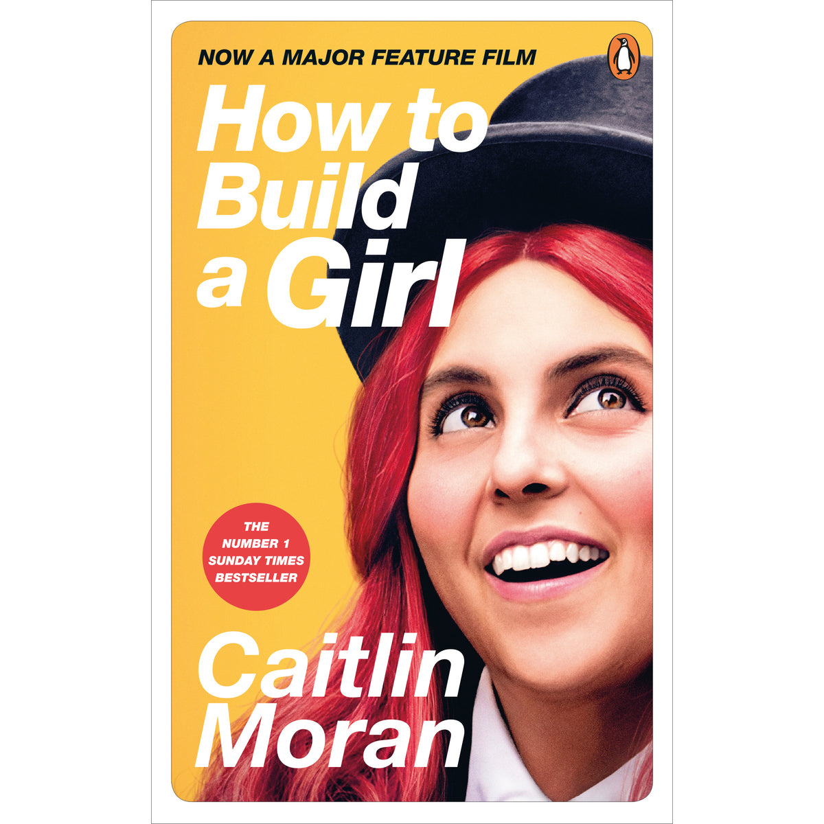 Film tie in cover How to Build a Girl