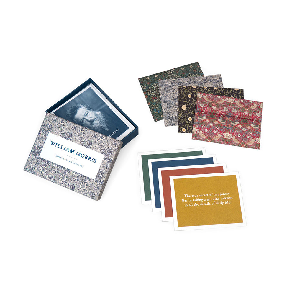 Example of William Morris Notecards with envelopes