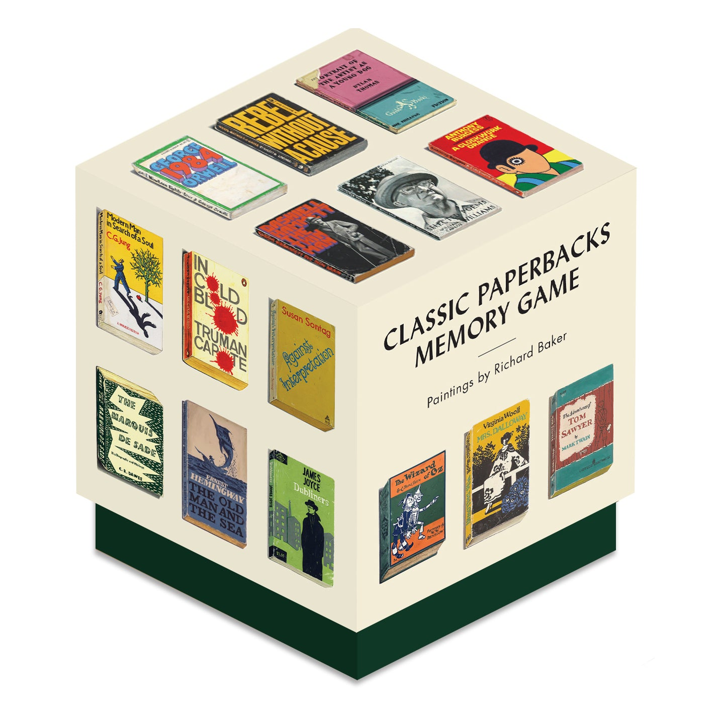 Box of Classic Paperbacks Memory Game