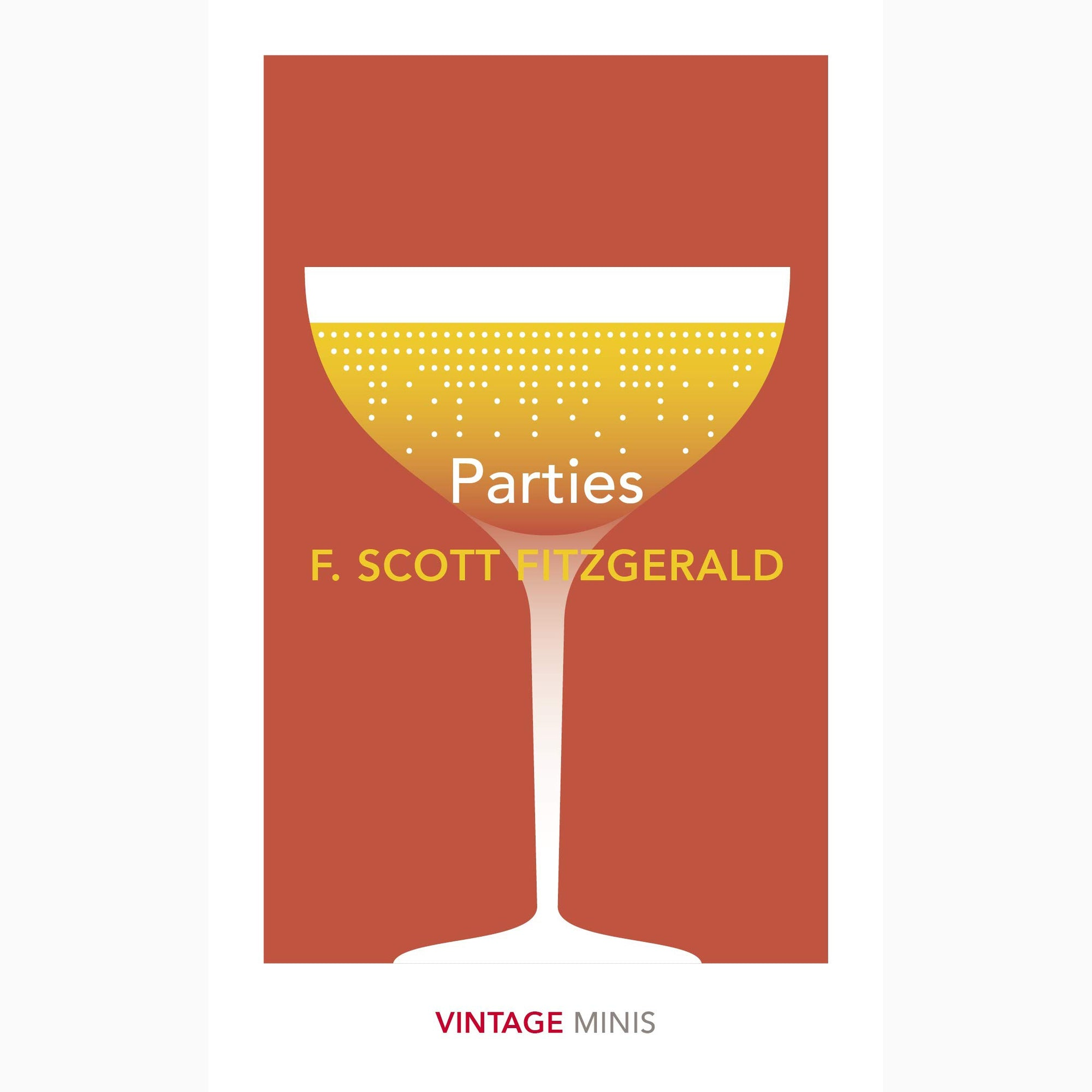 Cover of Parties collection of F Scott Fitzgerald