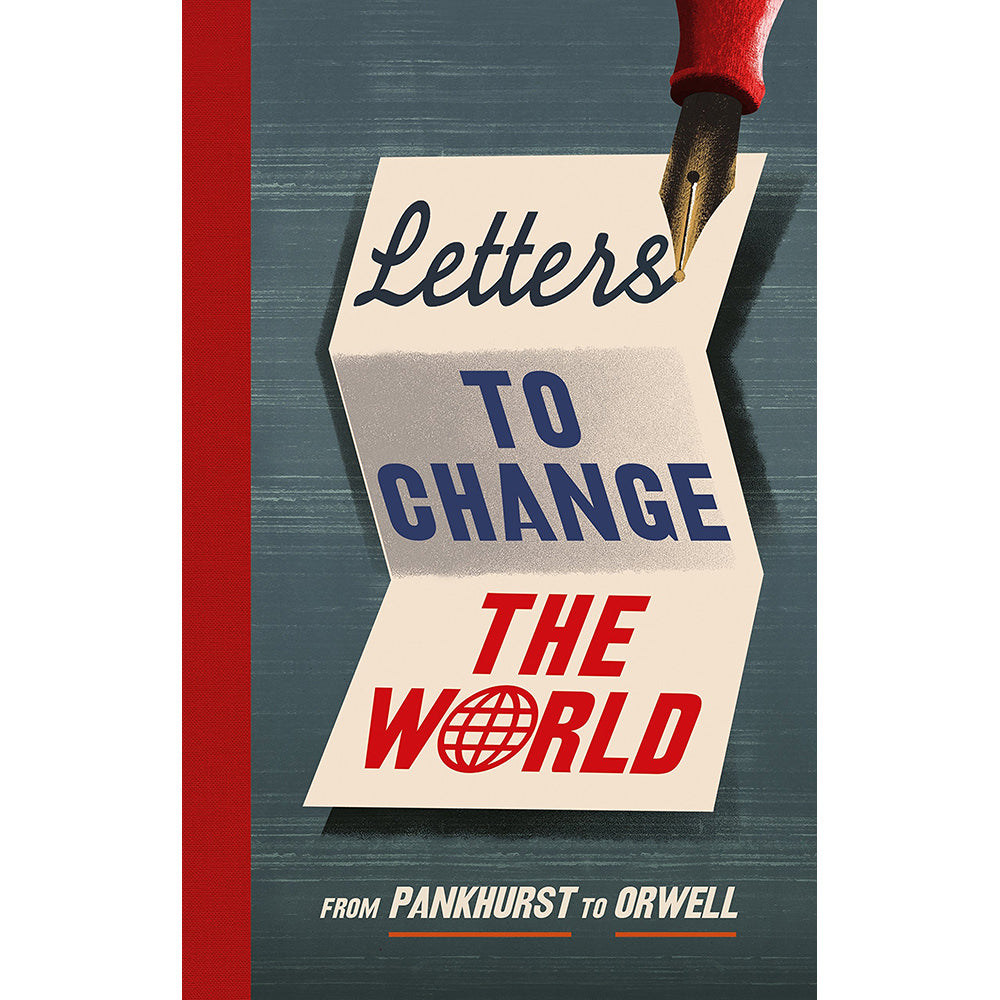 Letters to Change the World Hardback Book Cover