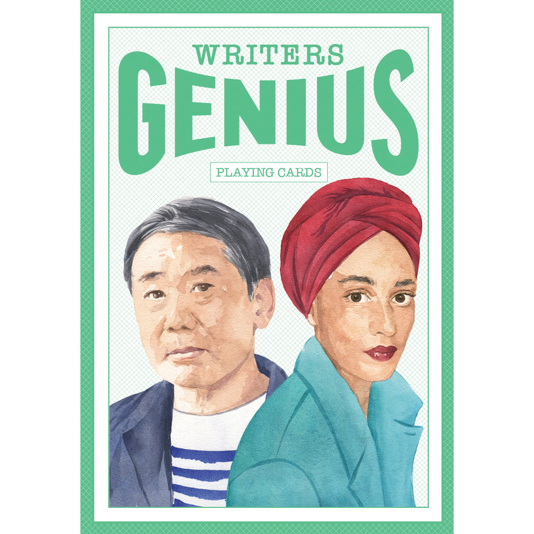 Genius Writers Playing Cards