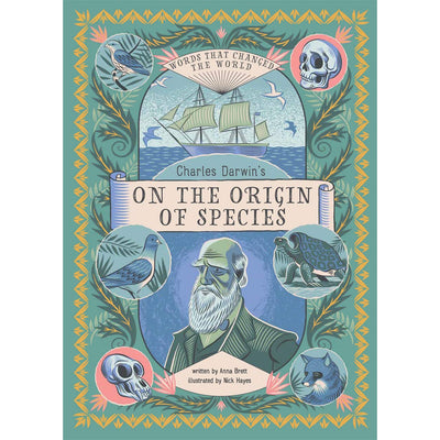 Cover of Charles Darwin's On the Origin of Species