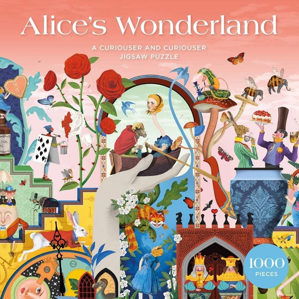 Alice's Wonderland Boxed Jigsaw Puzzle