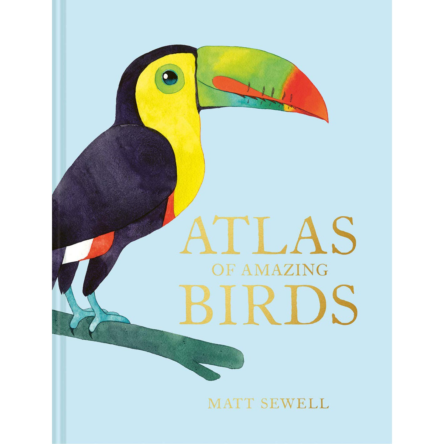Cover of Atlas of Amazing Birds