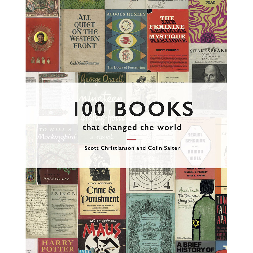 100 Books that Changed the World Hardback Front Cover