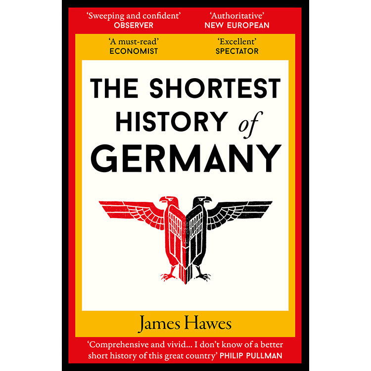 Cover of The Shortest History of Germany