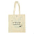 White Rabbit Tote Bag Reverse