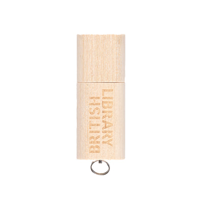 British Library Maple USB Stick