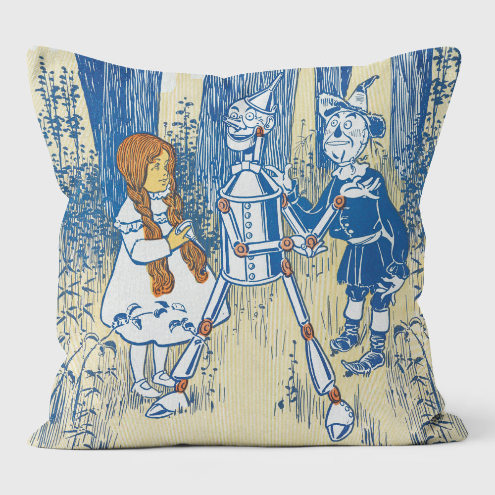 Wizard of Oz Woodland Scene Cushion