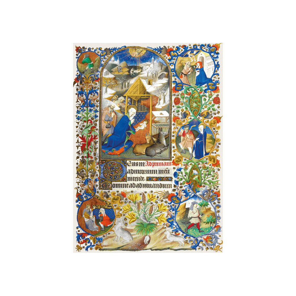 Pack of 8 Christmas Cards featuring Bedford Hours