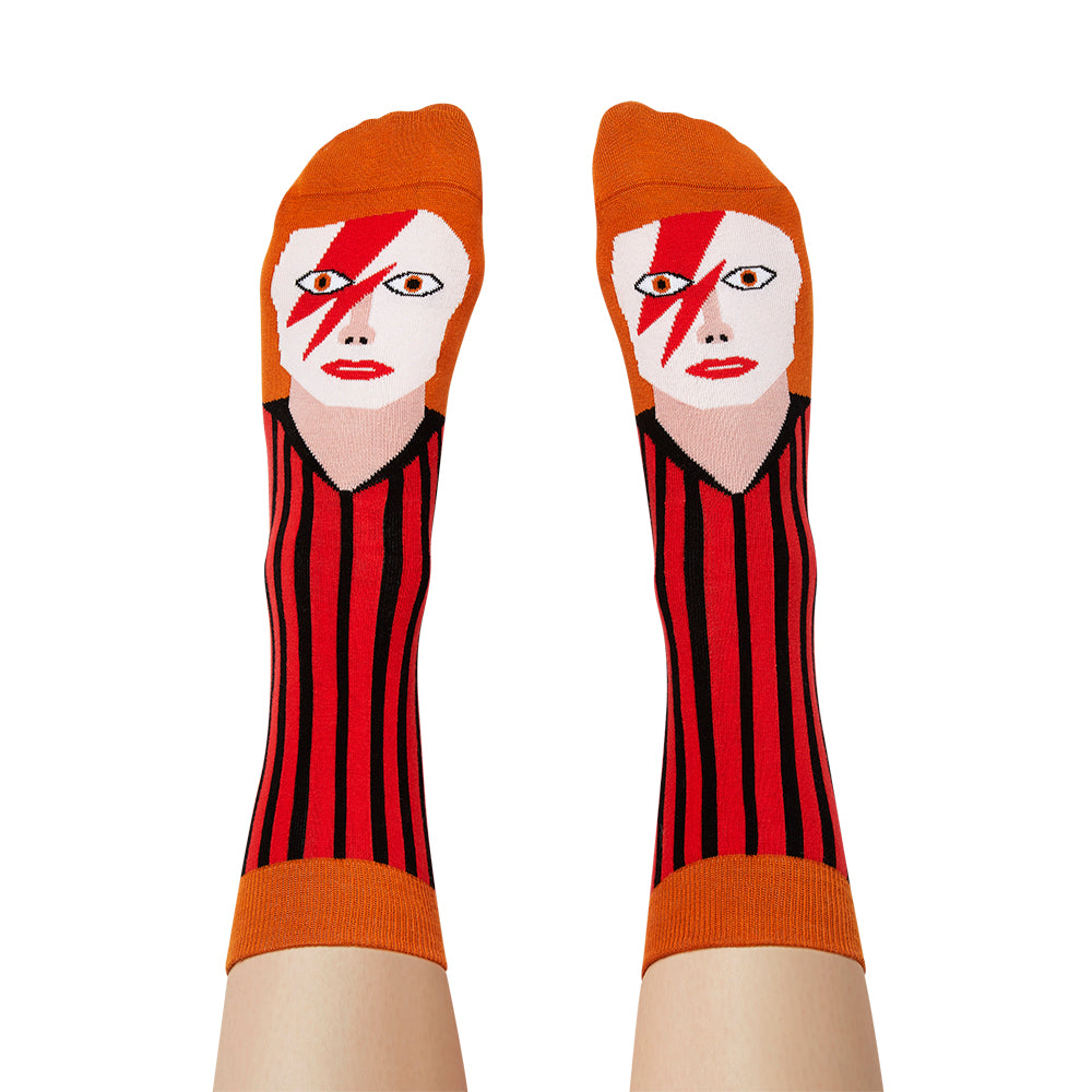 image of David Toewie Socks Large on feet