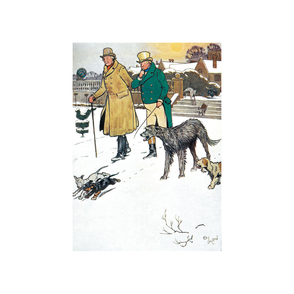 A Christmas Walk Christmas Cards British Library
