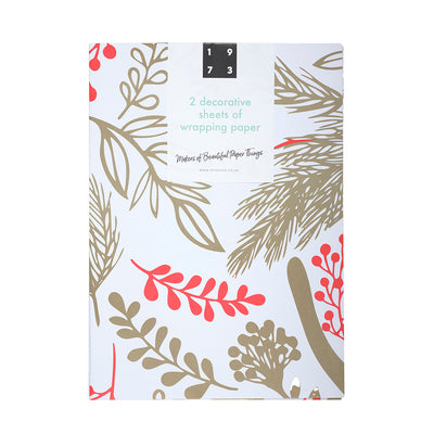 Fauna Christmas Wrap 2 pack in packaging