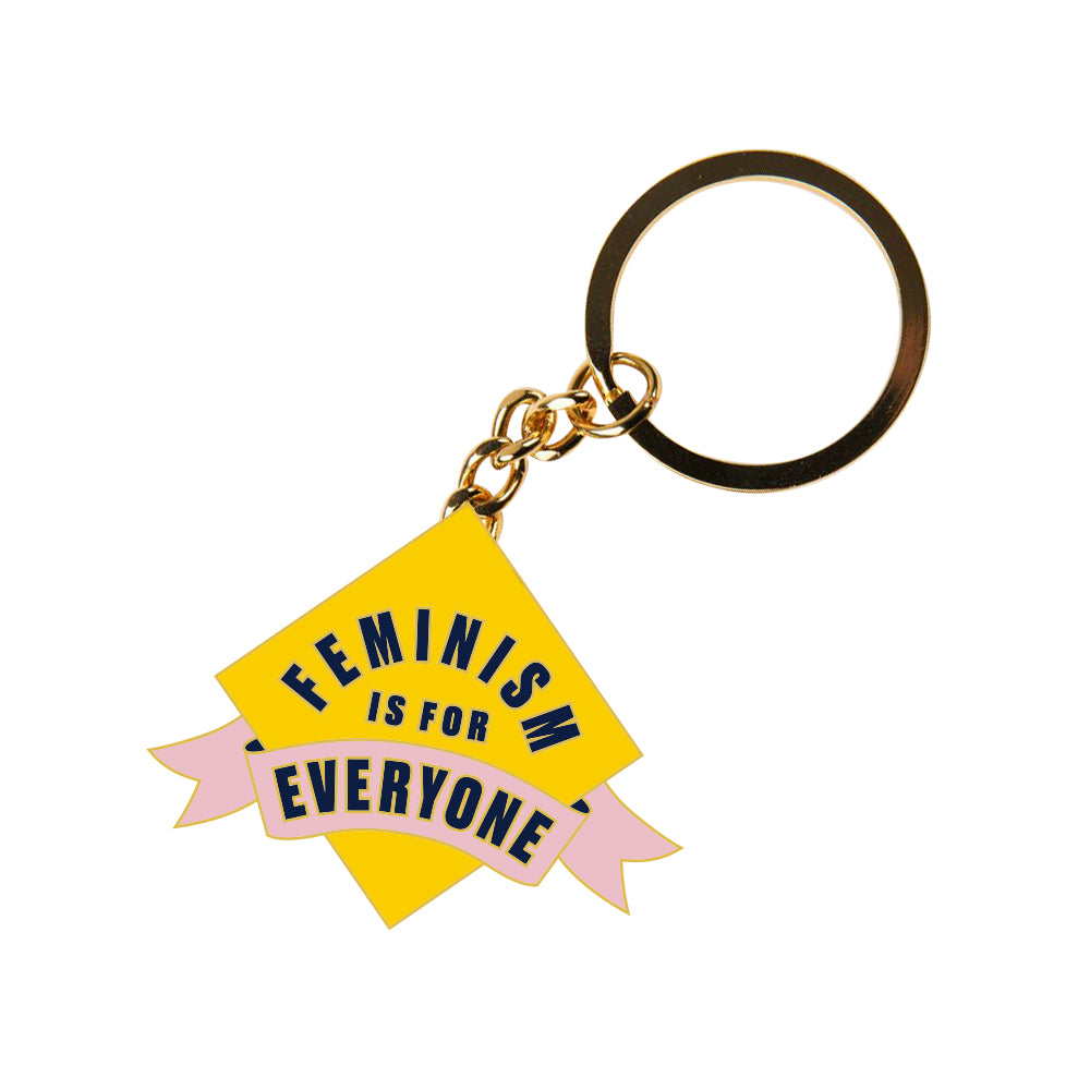 image of Feminism Is For Everyone Keyring
