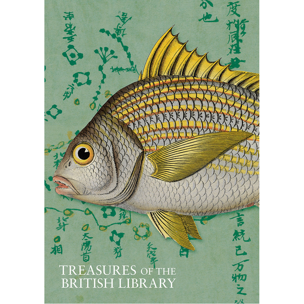 Treasures Fish Notebook A5