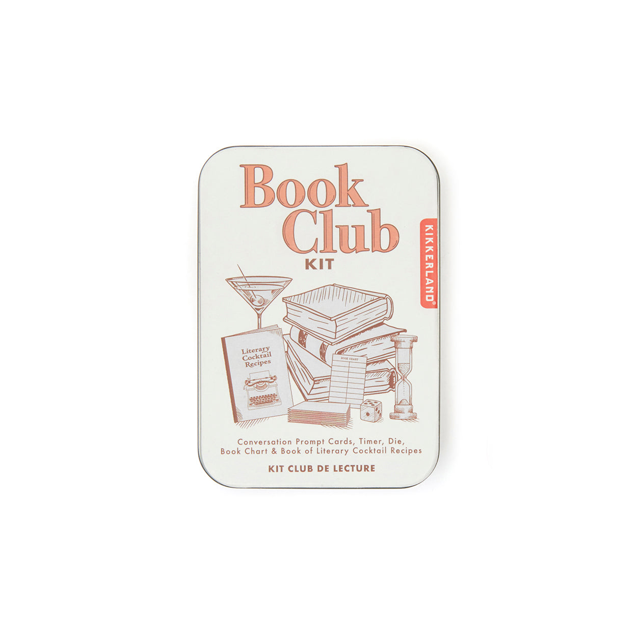 Image of Bookclub Kit in tin
