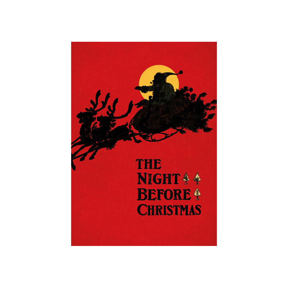 A pack of 8 Christmas cards  Denslow's Night before Christmas
