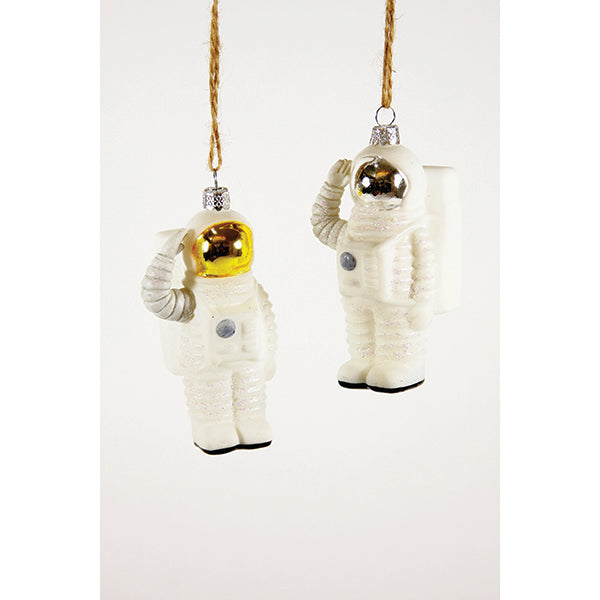 Two Astronaut Decorations