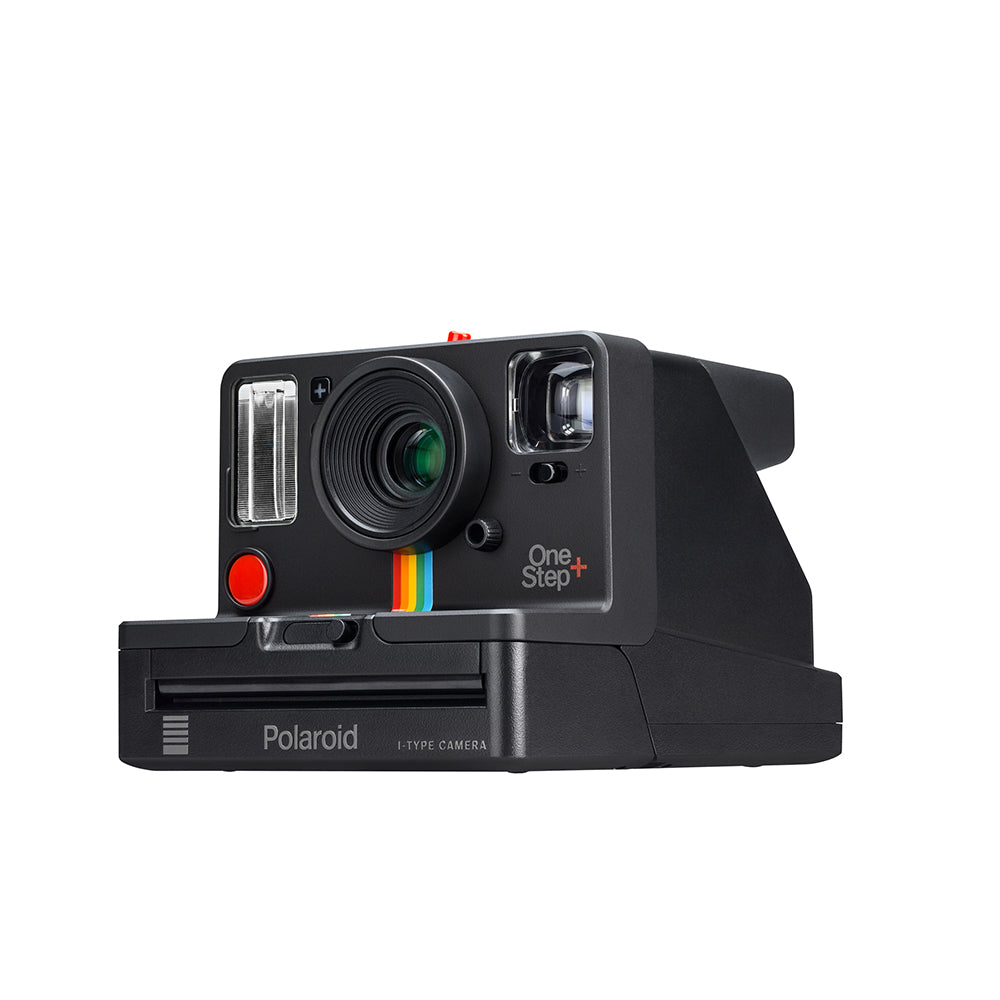 Polaroid one step camera side view