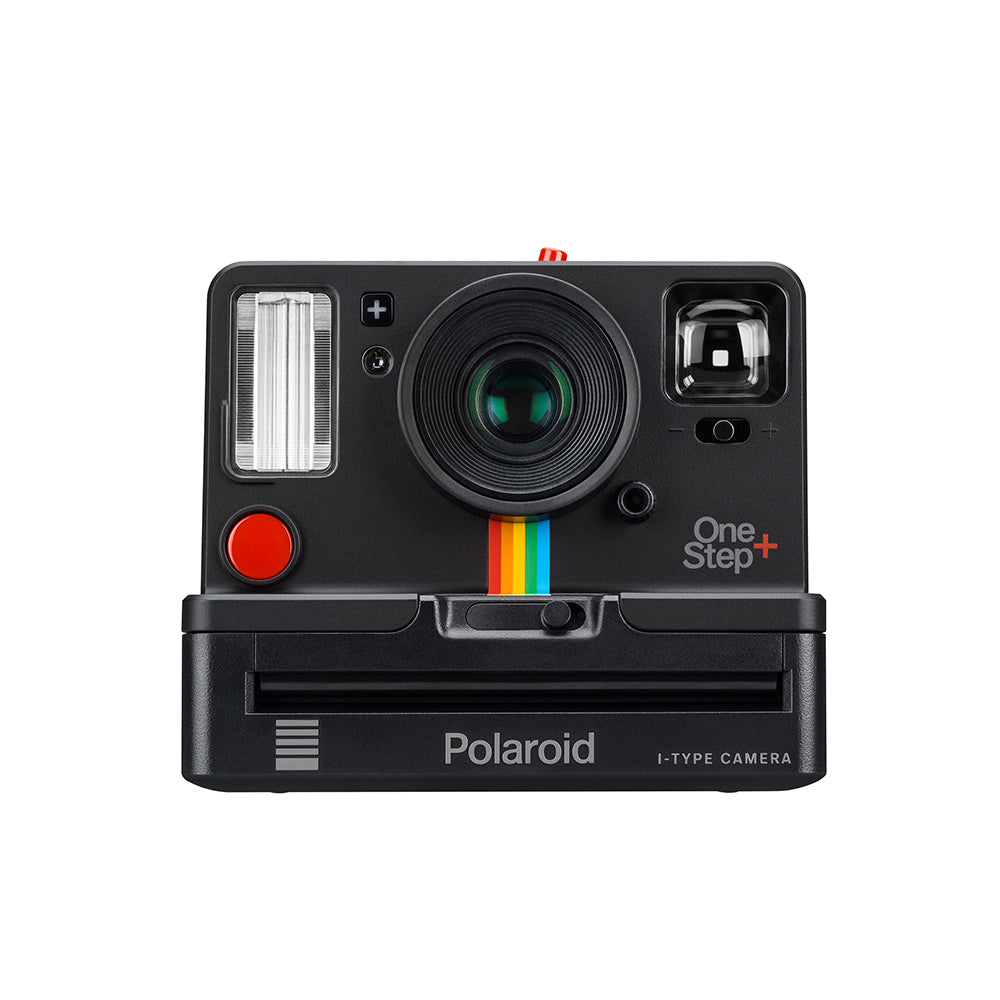 Polaroid one step camera front view