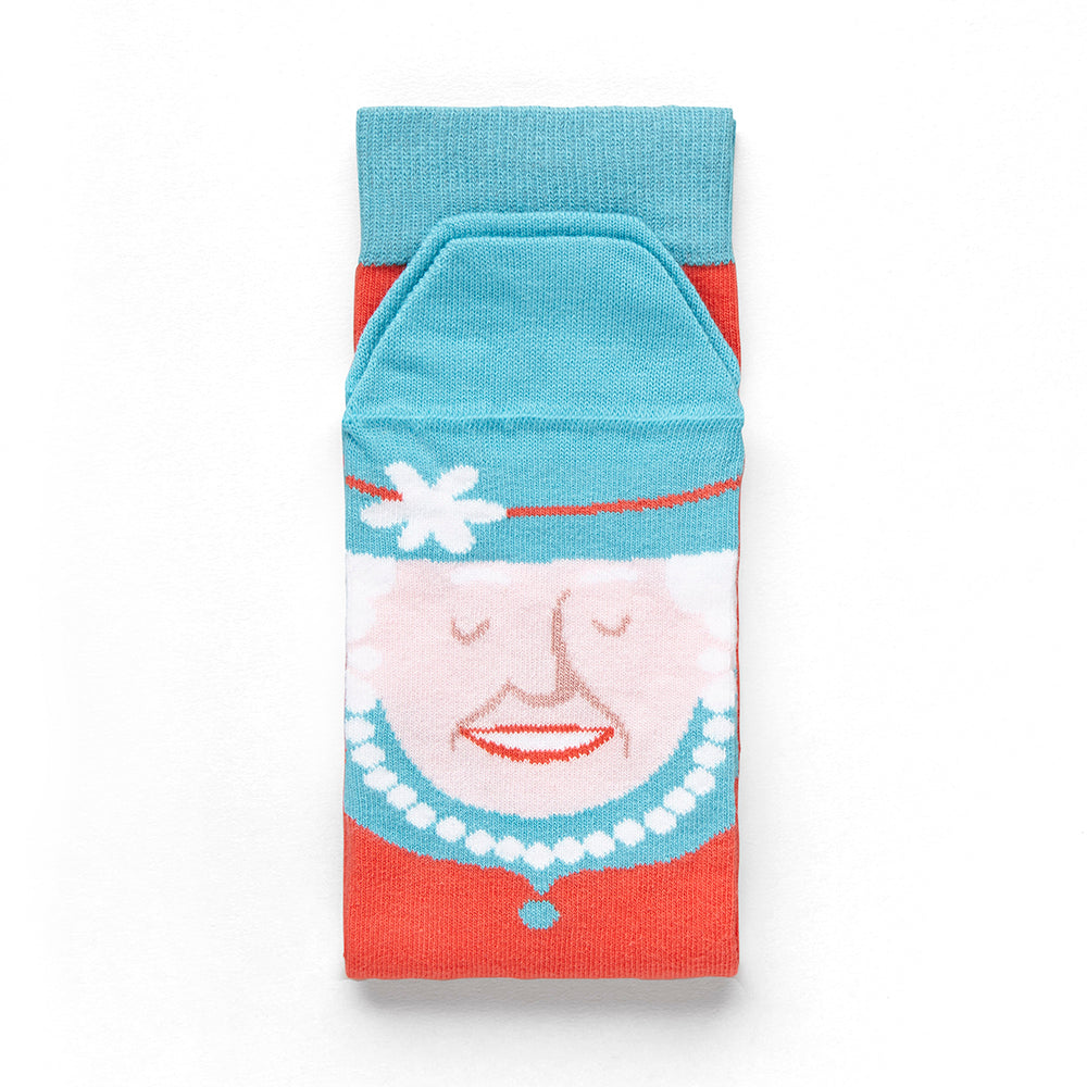 Sock Queen Folded