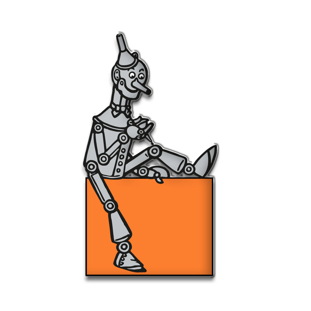 Tin Man Soft Enamel Pin