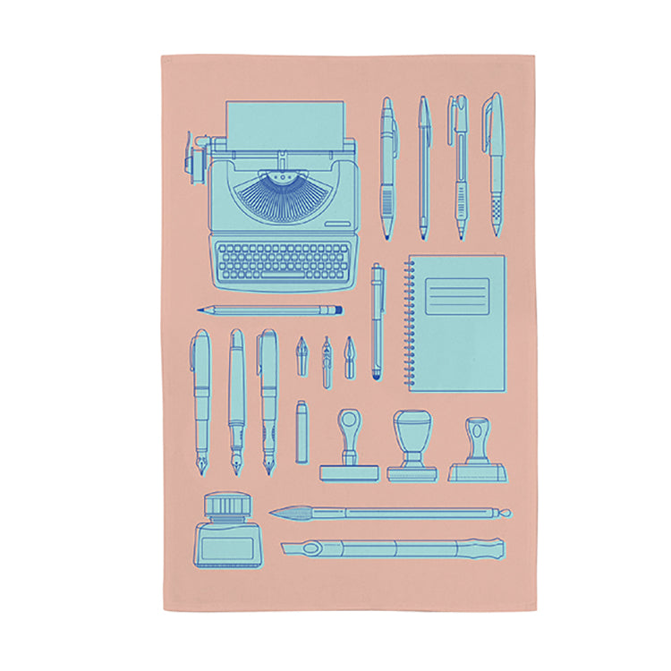 Image of Stationery Lovers Tea Towel