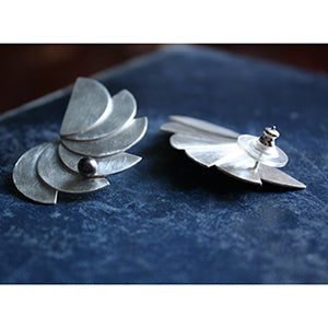 Perpetual Motion Winged Earrings Lifestyle Image