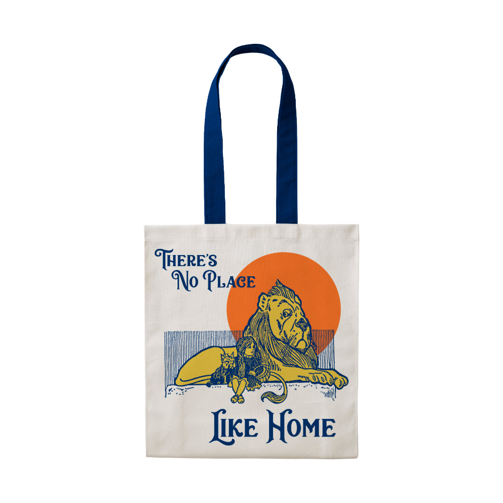 No Place Like Home Cotton Tote