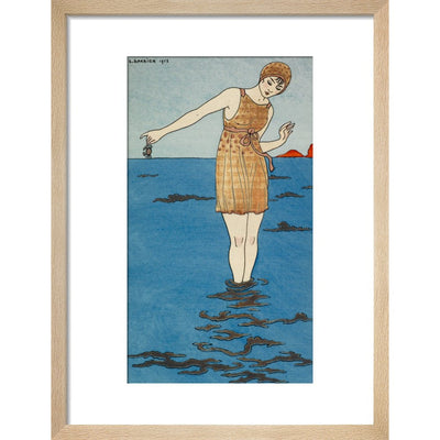 Costume de Bain print in natural frame