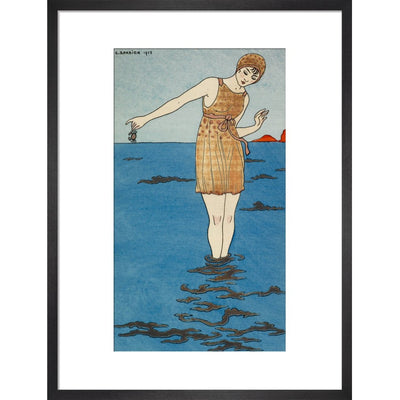 Costume de Bain print in black frame