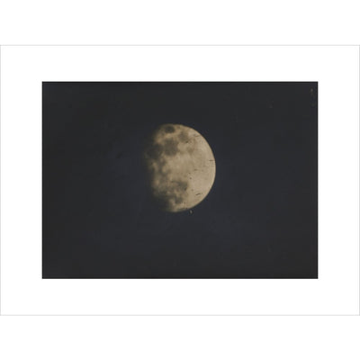 Photograph of the Moon print