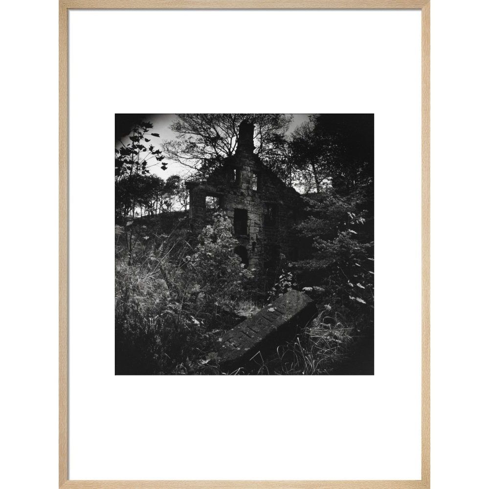 Staups Mill print in natural frame
