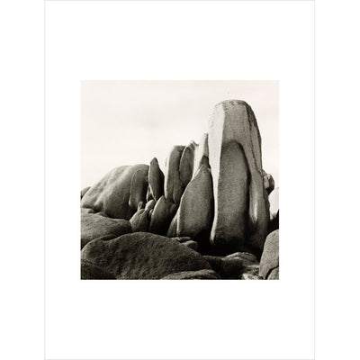 White Rocks print unframed
