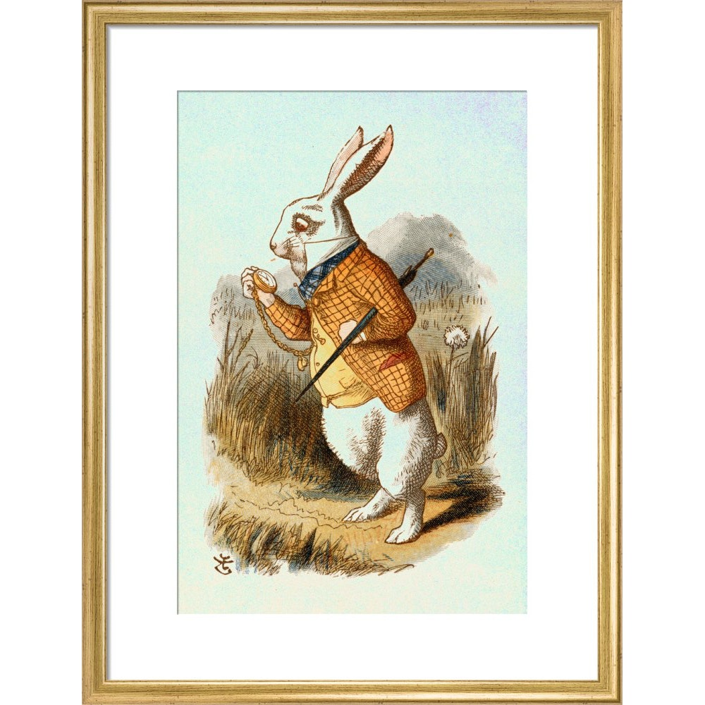 The White Rabbit print