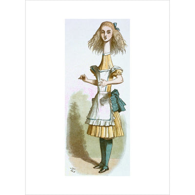 Alice growing print unframed