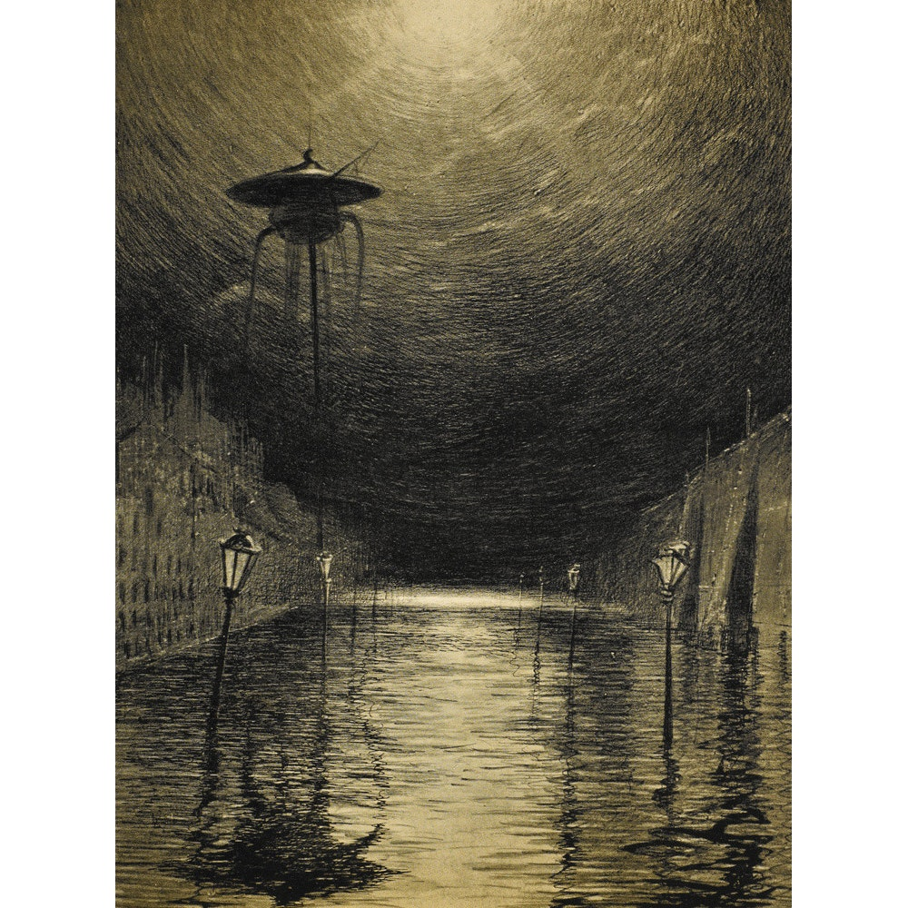The Flooded City print