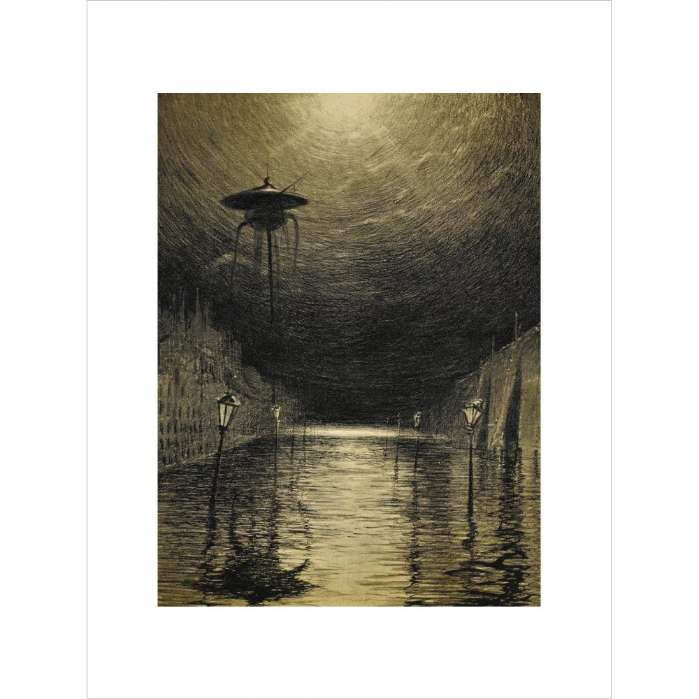 The Flooded City print unframed