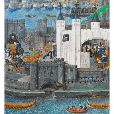 Charles of Orléans in the Tower of London print
